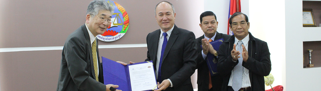 Agreement on educational cooperation between NUM & OTEMAE University